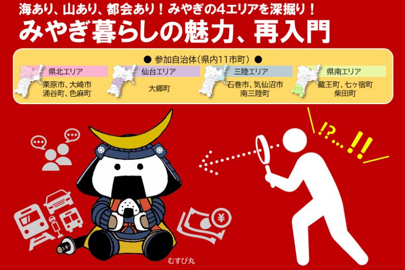 【開催中止のお知らせ】 10月19日(土)  第4回みやぎ移住フェア